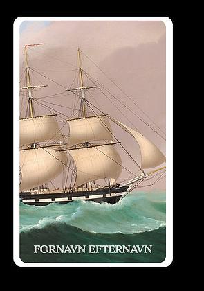 Kortspil Danske Skibe 2 sæt