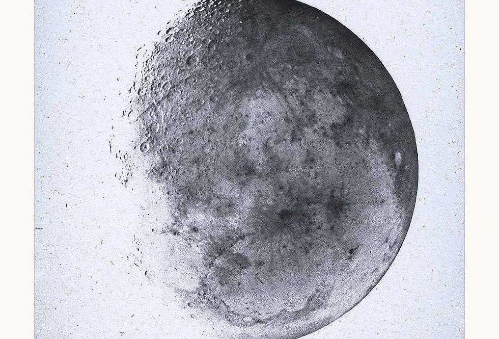 The Moon 1866 Negativ Light Blue