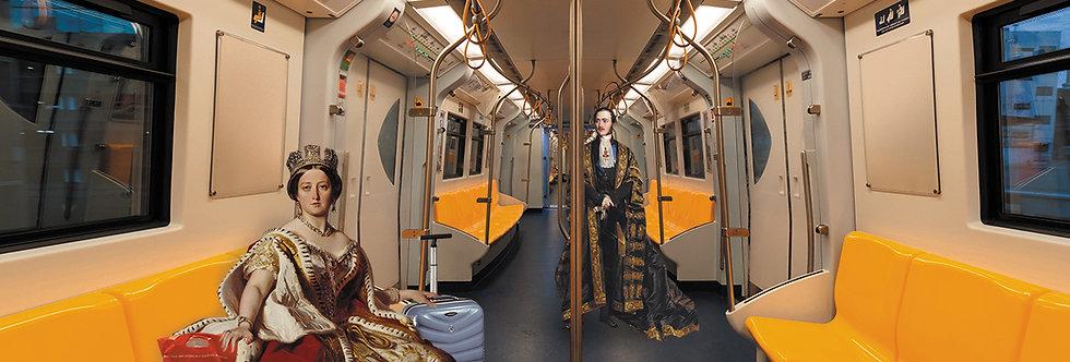 Collage: Victoria & Albert