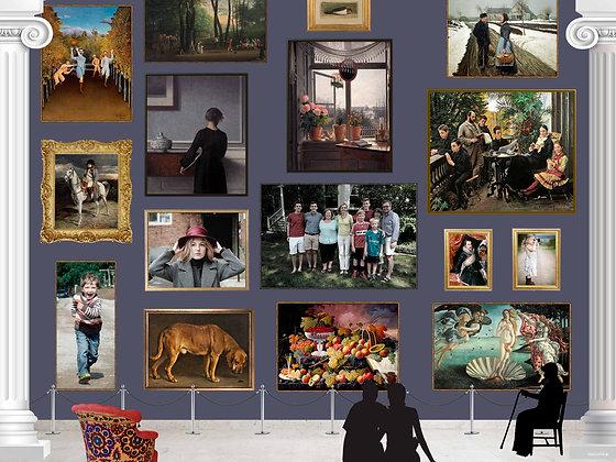 Puslespil Museum 1500 brikker