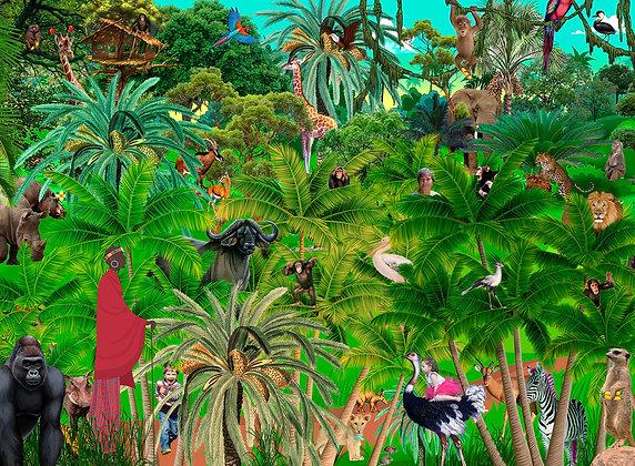 Puslespil Junglen 300 brikker