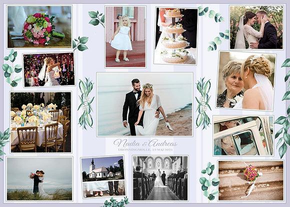 Puslespil Nordisk Bryllup 1000 brikker