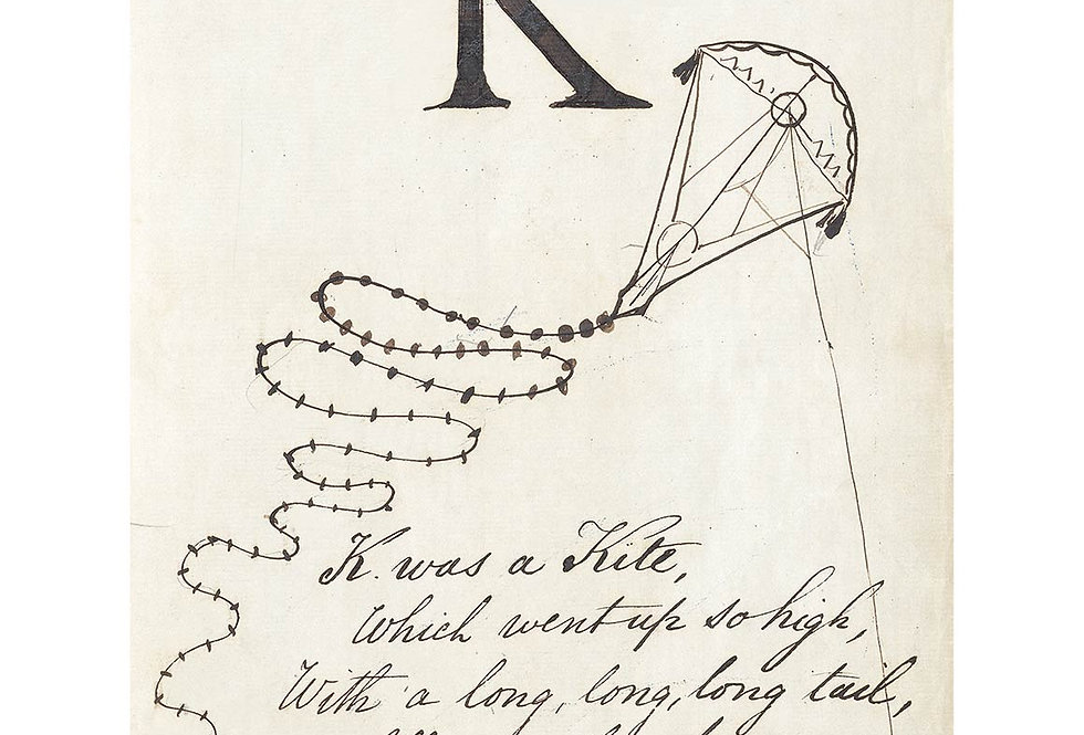 Alfabet 1857 - K
