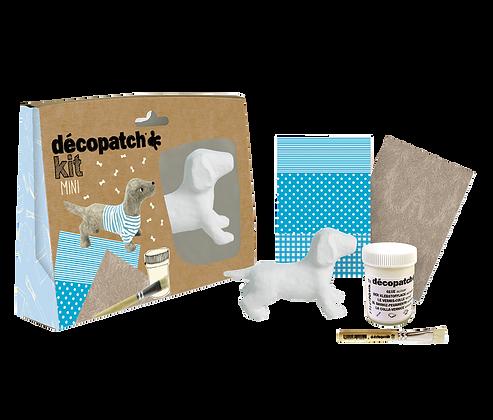 Decoupage Mini Kit Gravhund