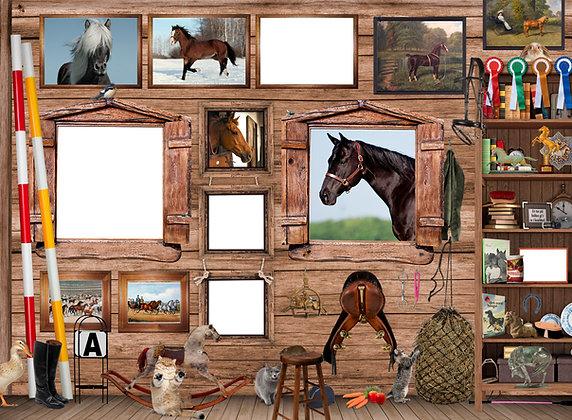 PUZZLE HORSES 200 pieces