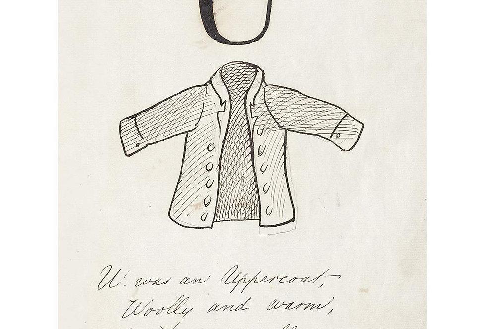 Alfabet 1857 - U