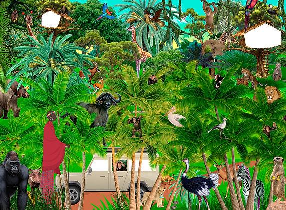 Puslespil Junglen 200 brikker