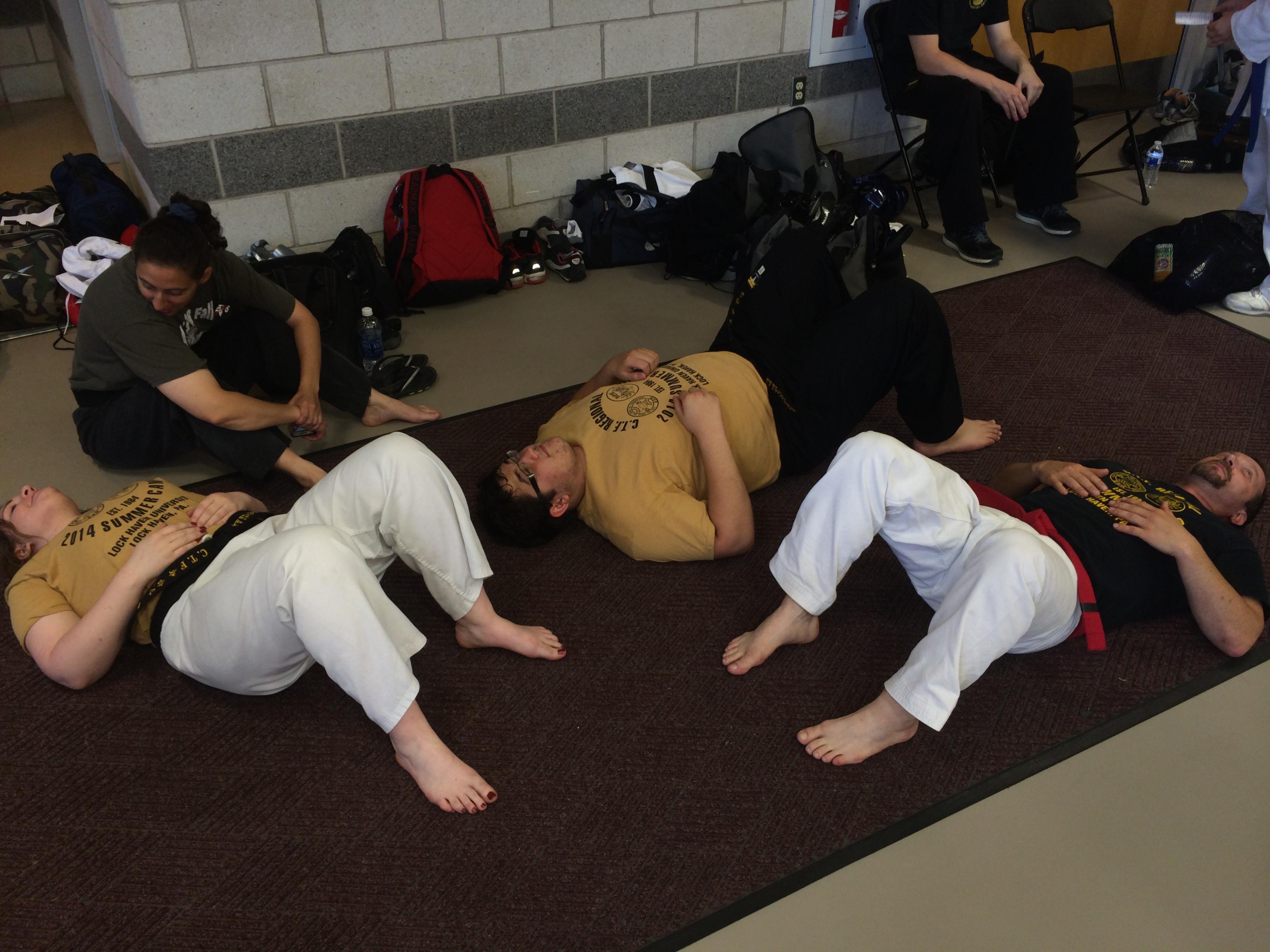 Master Craighead stretch
