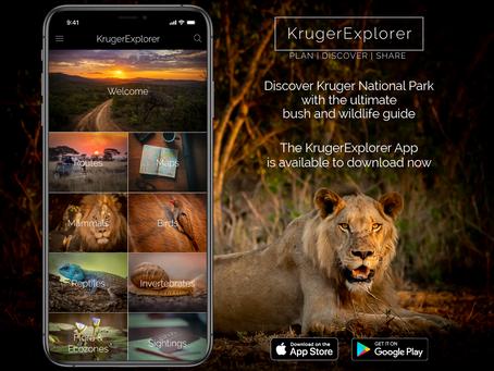 The KrugerExplorer App has launched!
