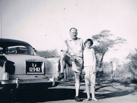 Guest post: Between Two Rivers - A 1957 Kruger Safari
