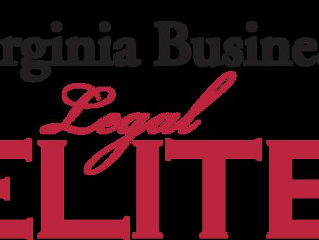 Virginia Business Magazine - 2019 Legal Elite for Appellate Law