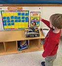 Calendar time in preschool teaches early math skills.