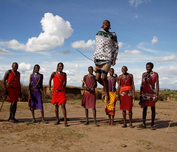 Kenya Massai Warriors