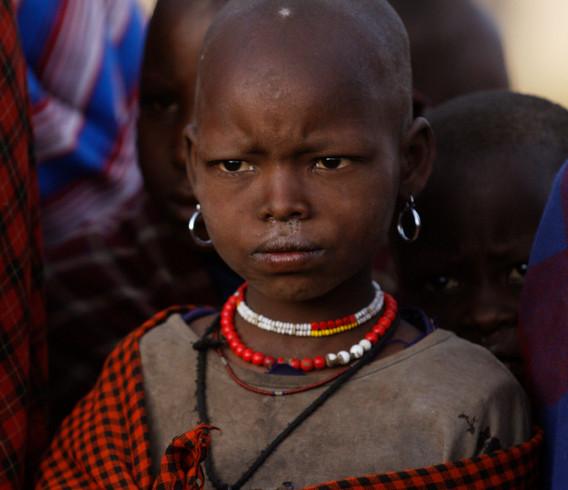 Tanzania Serious Girl