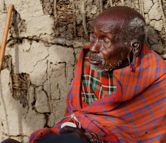 Kenya Maasai Elder