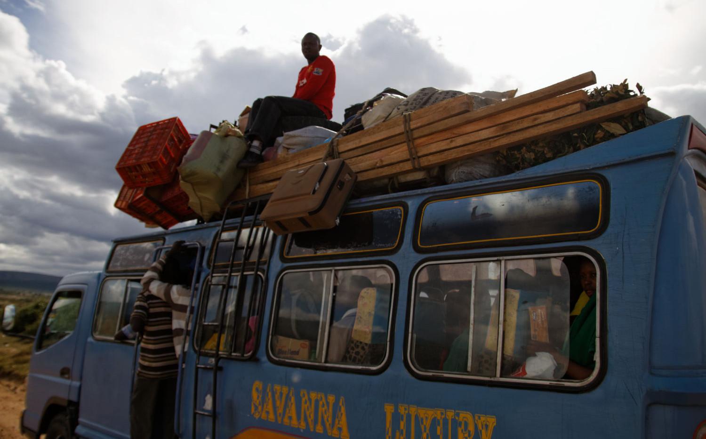 Kenya Luxury Van