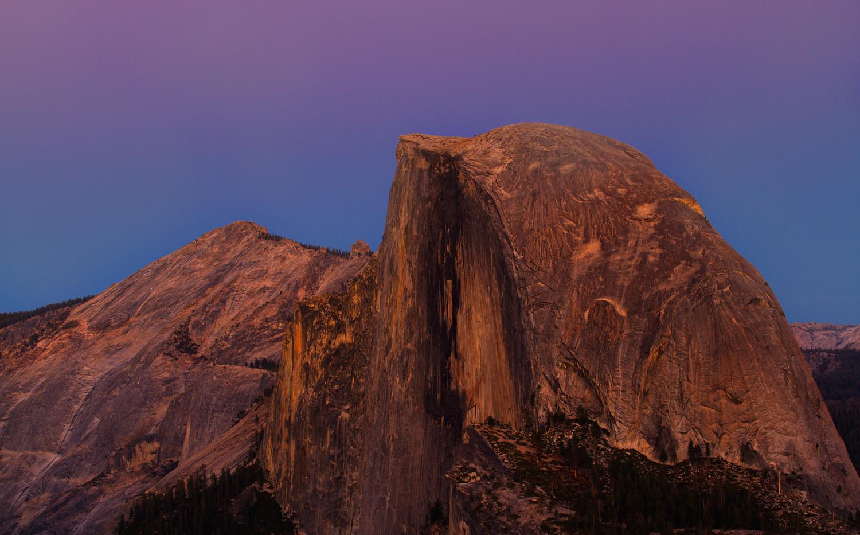 Alpine Glow on Half Dome
