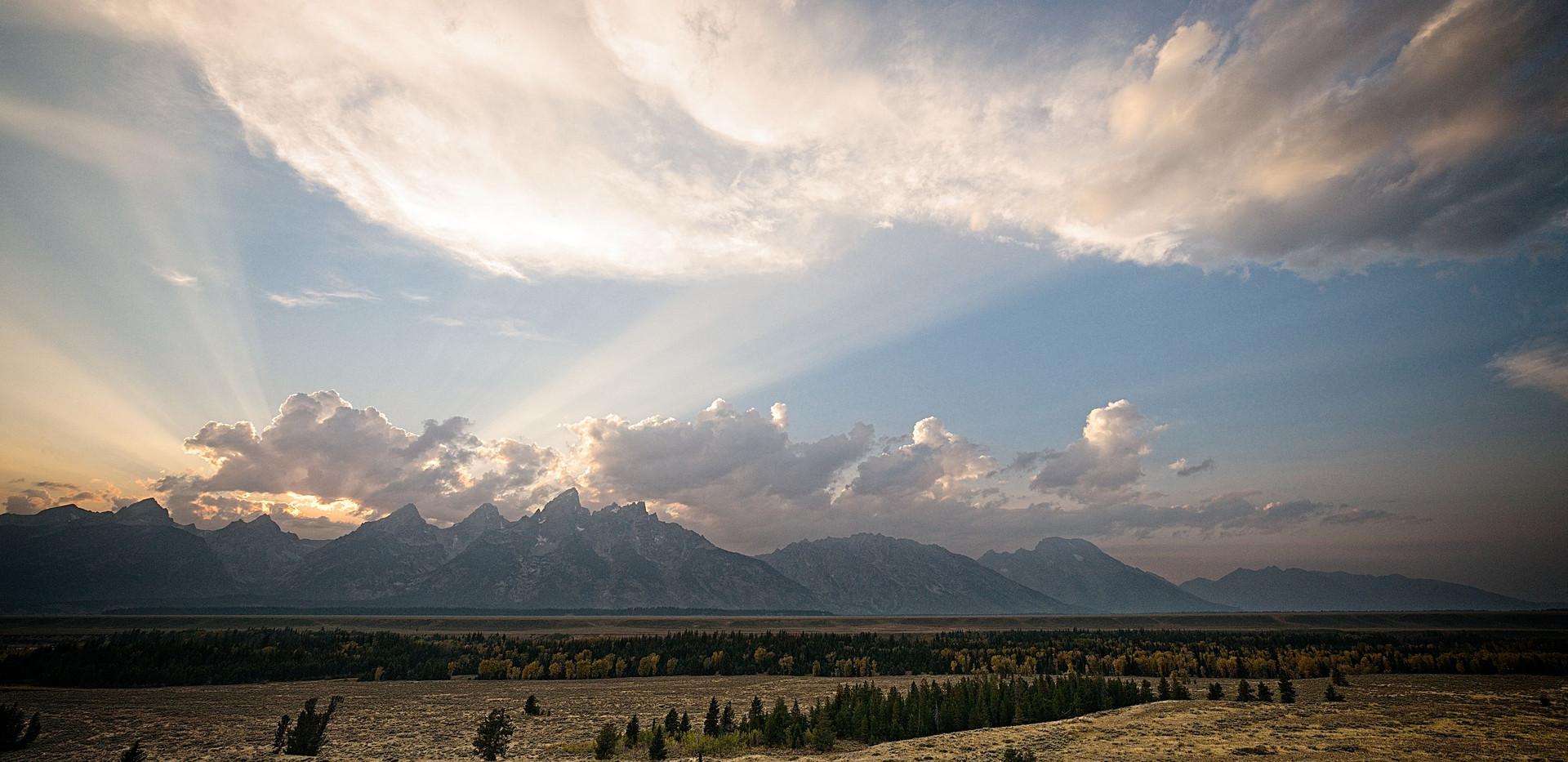 Sunset Mountain Ridge