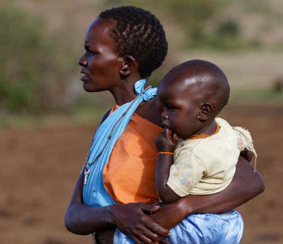 Kenya Mother and Child
