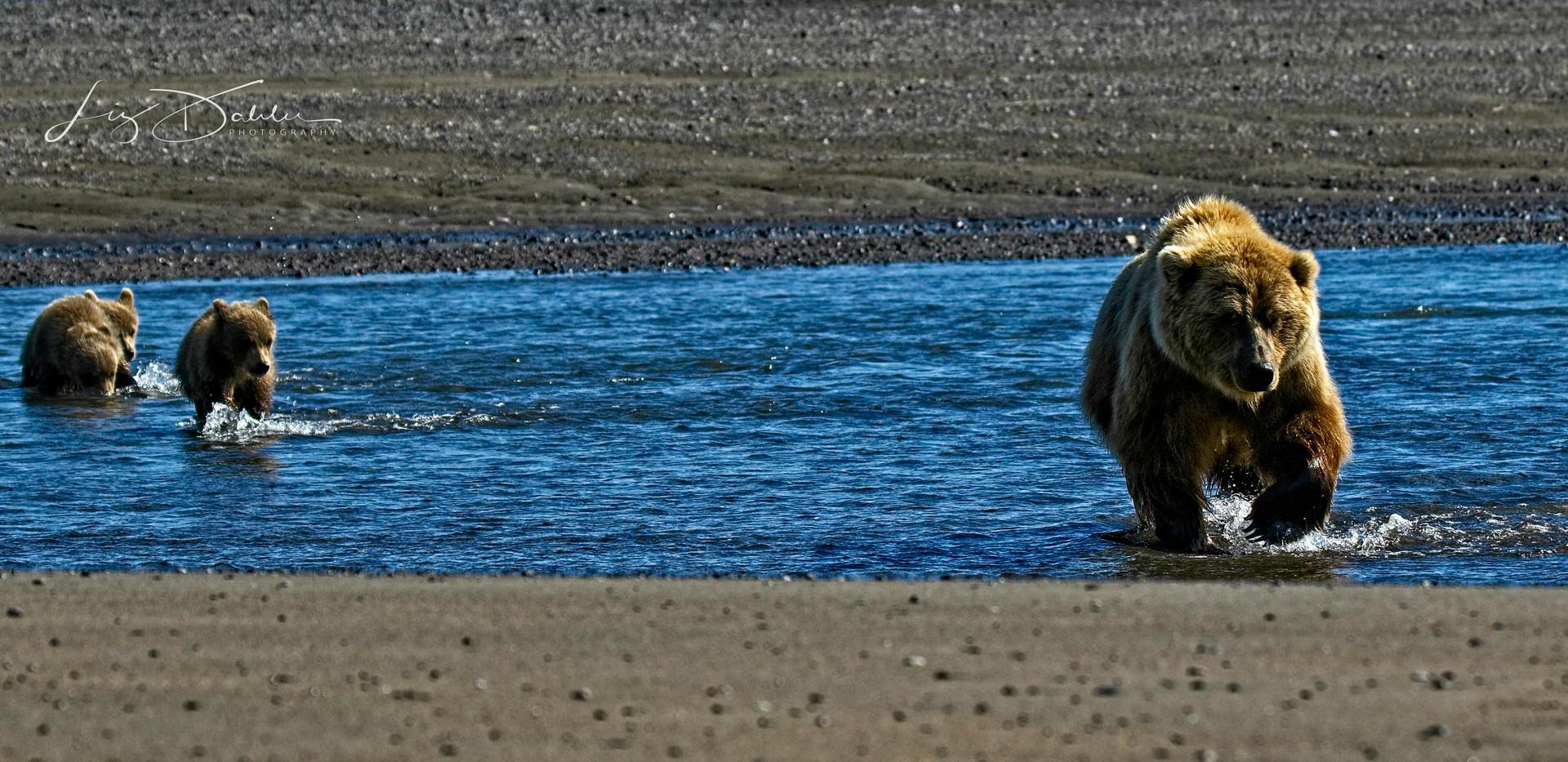 Crossing Blue Water