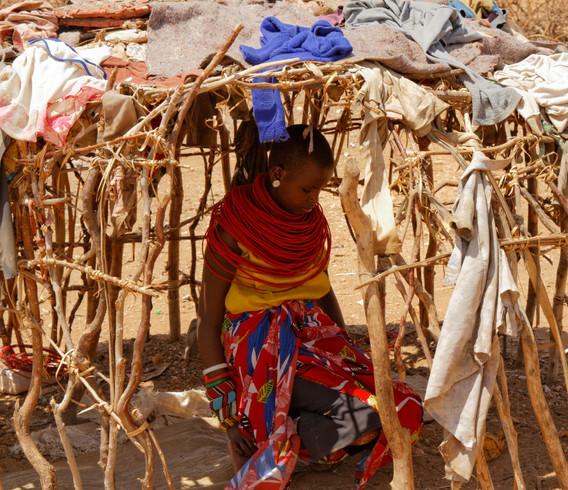 Kenya Woman Reflections