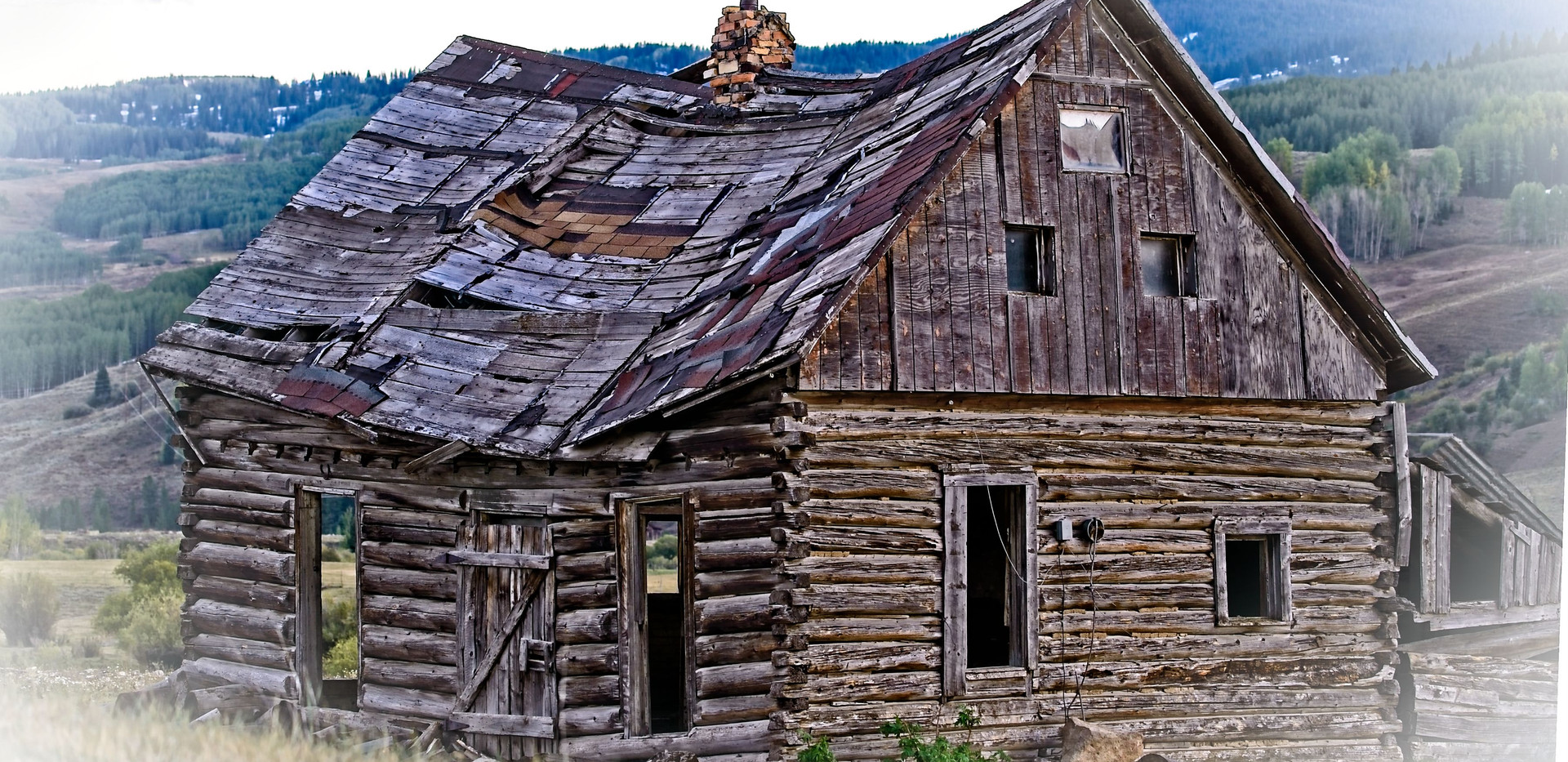 Old Log Home Crested Butte