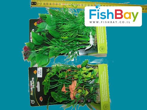 צמח פלסטיק בינוני לאקווריום