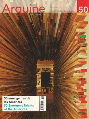 Kasuga House, Arquine Magazine: 50 Emergent Talents of the Americas, Mexico, Winter 2009