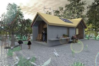 Rural House CEMEX prototype (massive produce housing)
