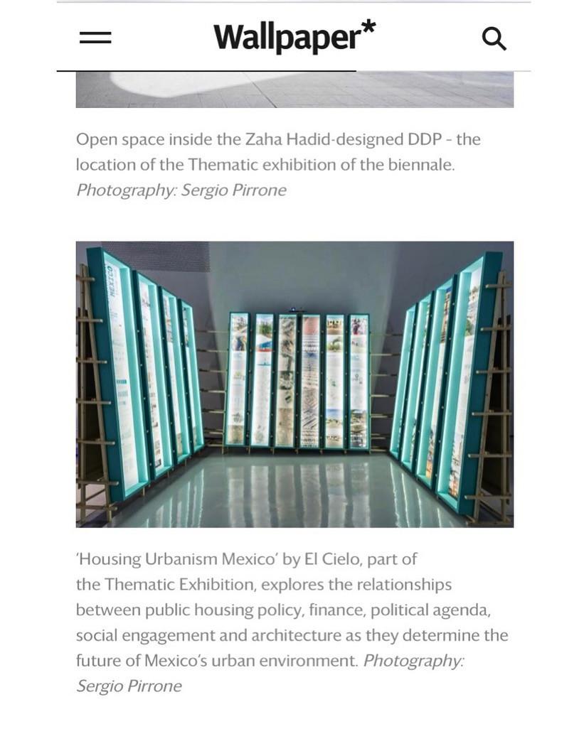 """La participación de El Cielo """"Housing Urbanism Mexico"""" en la Bienal de Arquitectura y Urbanismo en Seul SBAU 2019"""