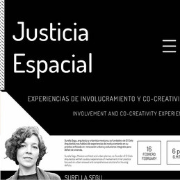 """See you on the webinar """"Involvement and Co-Creativity Experiences"""" with Surella Segu, Mexican architect and urban designer, co-founder of El Cielo Arquitectos . She will tell us about experiences of involvement in her practice focused on urban regeneration and integral solutions for housing deficits."""