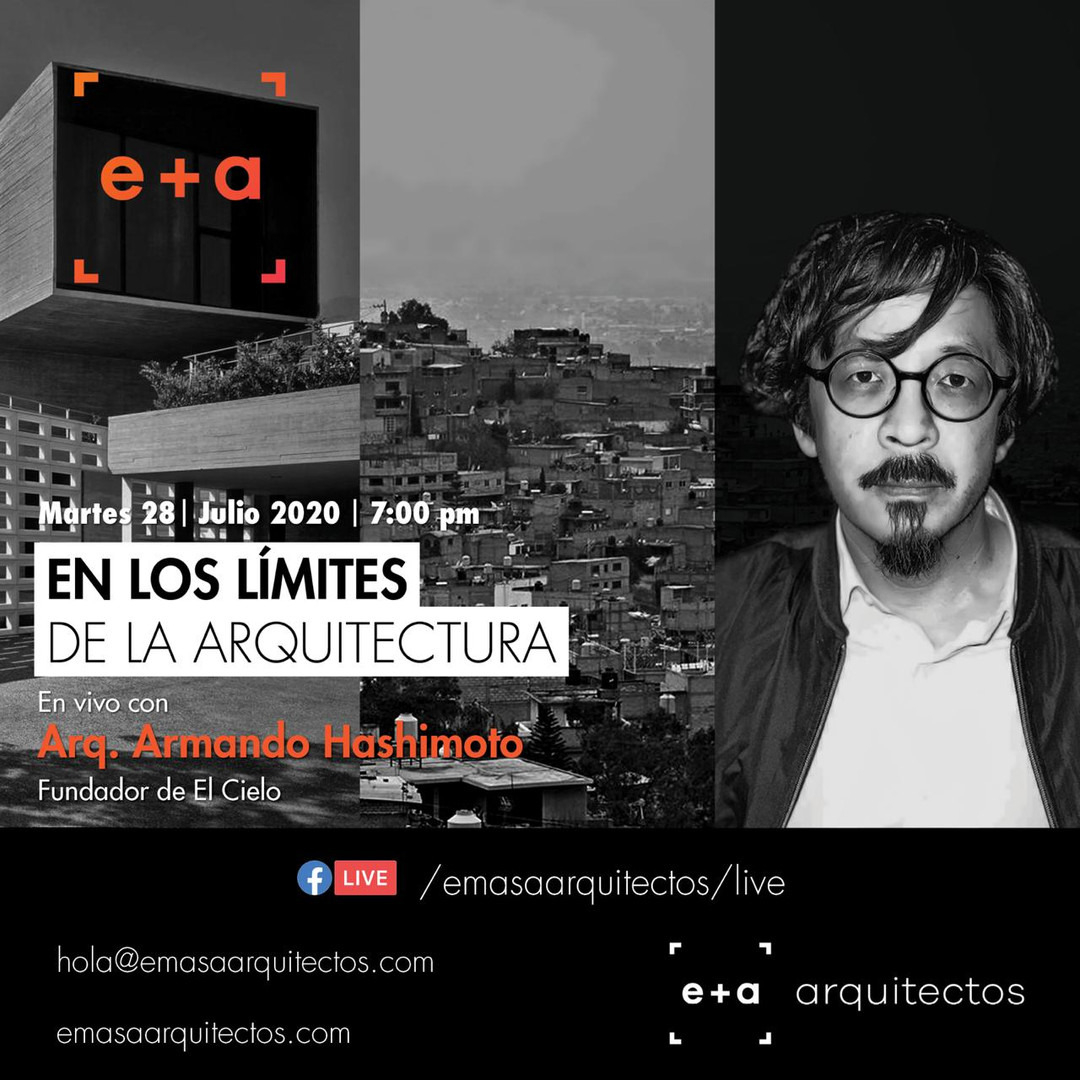 Webinar: En los límites de la arquitectura. ¡Gracias por la invitación a e+a arquitectos!