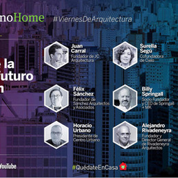 """See you today at the webinar """"The utopia of the city of the future, housing and the city"""" at 6:00 pm; link in bio. Thanks to Utópolis for the invitation!"""