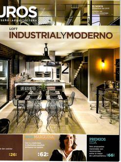 Casa Villaseñor, El Norte, Periódico Reforma, suplemento Entremuros, Ciudad de México, Diciembre 2013