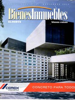 Casa Villaseñor, Bienes Inmueblres, El Norte, Num. 133 Año 11, Noviembre 2013