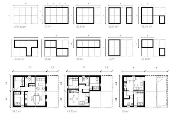 Diagramas de distintas configuraciones según usuario