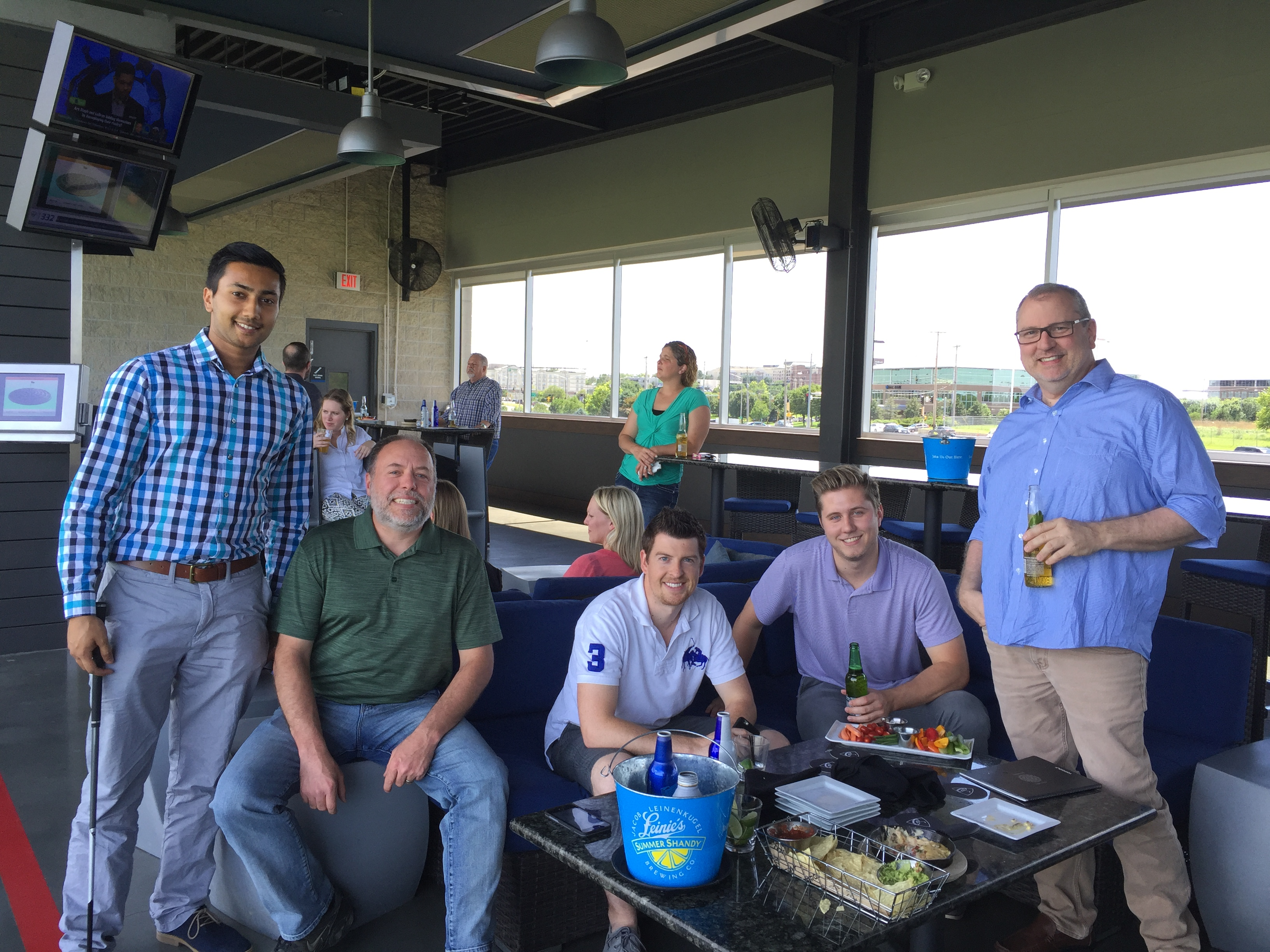 Top Golf company outing 2016