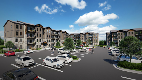 ON THE BOARDS -MULTI-FAMILY DEVELOPMENT