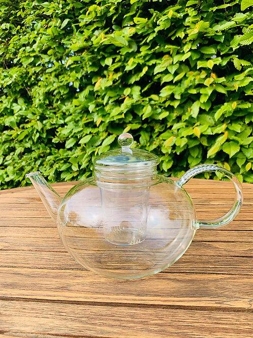 Theepot glas met filter 2 liter