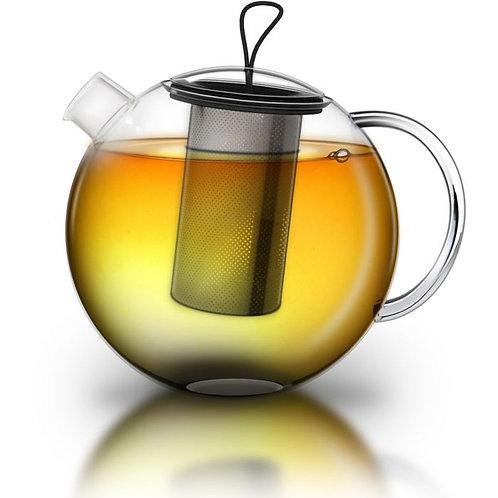 Glazen theepot 2 liter met inox filter