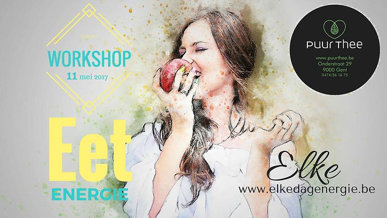 Workshop Eet Energie!