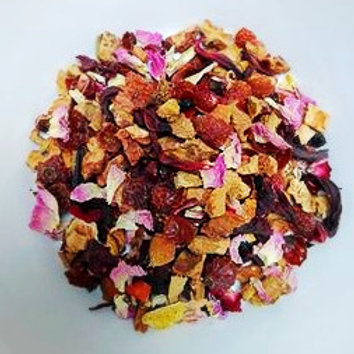 Rozen en rozenbottel