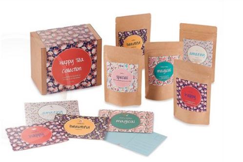Geschenkpakket Happy Tea Collection