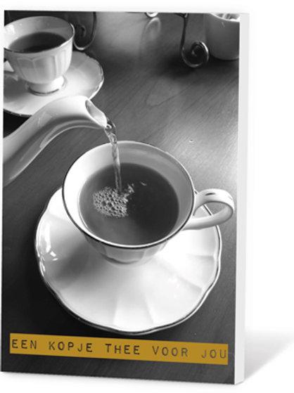 Wenskaart Een kopje thee voor jou