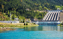 Lake Benmore hydroelectric dam, New Zeal