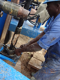 Go Drill Worker Drilling