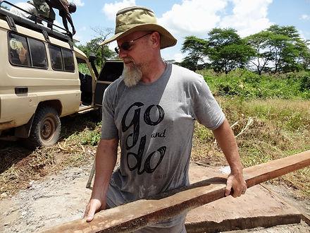 Scott Placke Carying Lumber
