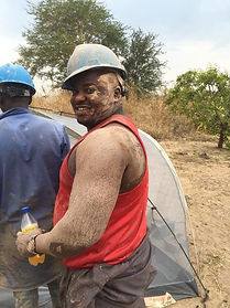 Go Drill Worker Smiling