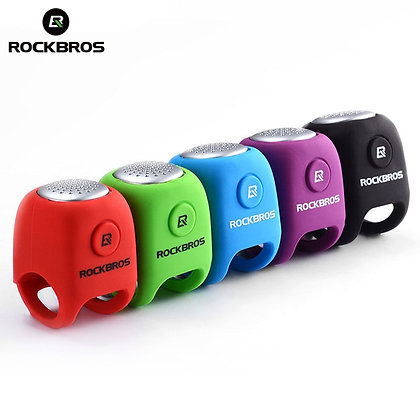 ROCKBROS Electric Cycling Bell 110 dB Horn Rainproof MTB Bicycle Handlebar