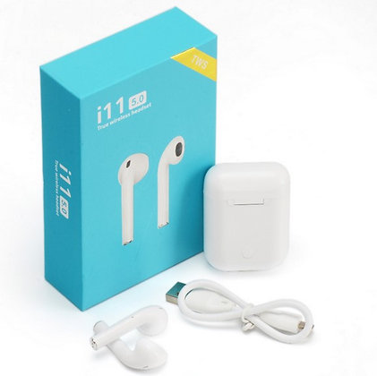 Earpods Wireless Bluetooth 5.0 Earphones For iPhone Android Touch Control